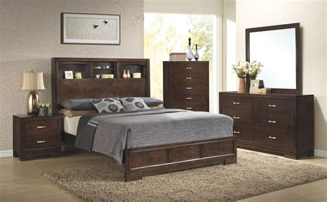 walnut bedroom set c4233a walnut bedroom awfco catalog site
