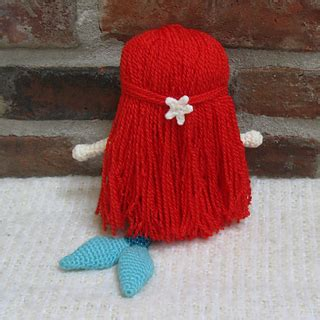 new 5 cute doll crochet patterns doll pattern ravelry amigurumi doll ariel the mermaid pattern by