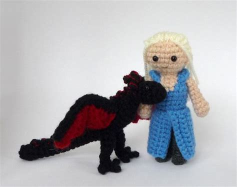 amigurumi patterns video games seasons game of and dragon on pinterest