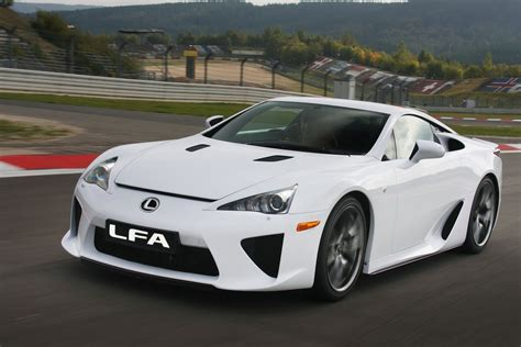lexus supercar lfa lexus lfa history of model photo gallery and list of