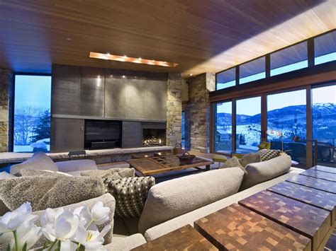 mountain homes interiors modern mountain homes vail property search search vail