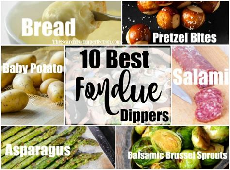 The Most Fabulous Fondue by 10 Best Cheese Fondue Dippers That Every Fondue Needs