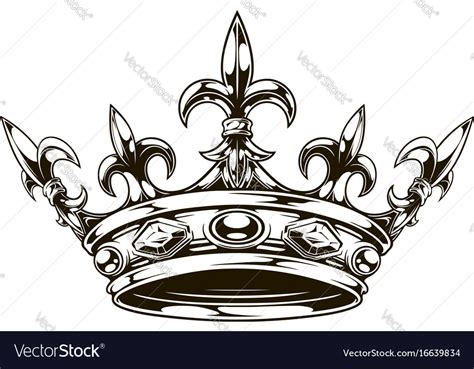 tatoo stock images royalty free graphic black and white king crown royalty free vector image