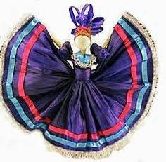 corn husk folklorico dolls mexican corn husk dolls corn husk doll wearing a
