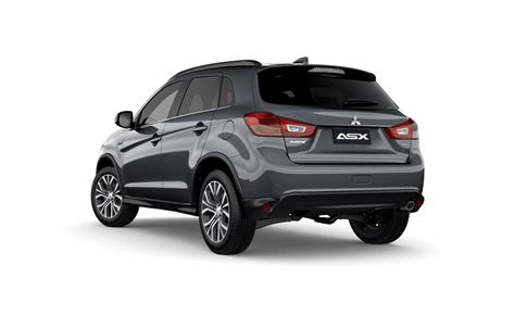 black mitsubishi asx mitsubishi asx compact small suv built for the city