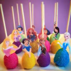 Have all princesses that you love here u can choose either cake pops