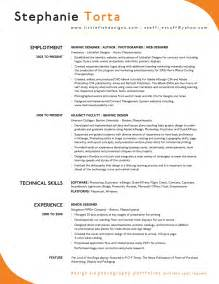 excellent resume sle sle resumes