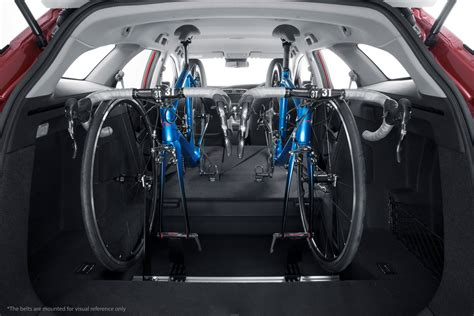 In Car Bike Rack by Honda Designs In Car Bicycle Rack For European Civic Tourer