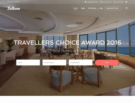 Hotel Ls With Outlets by 40 Best Hotel Themes 2018 Athemes