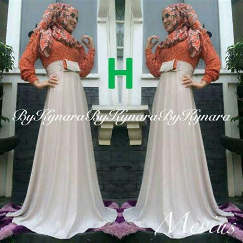 By Kynara mevius dress h baju muslim gamis modern