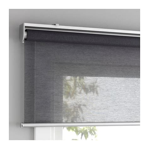 ikea window shades skogskl 214 ver roller blind grey 100x195 cm ikea