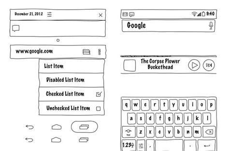 powerpoint wireframe template for ui design free android gui wireframe templates 2014