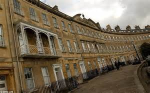 entire crescent of bath houses with total value topping 163