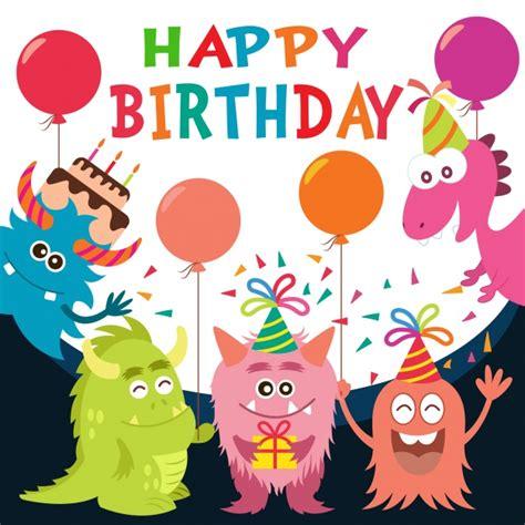 happy birthday backdrop design birthday background design vector free download