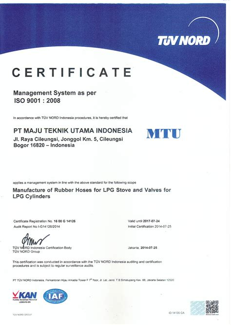 iso certificate manufacture  rubber hoses  lpg stove