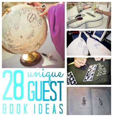unique guest book ideas sign in book c r a f t