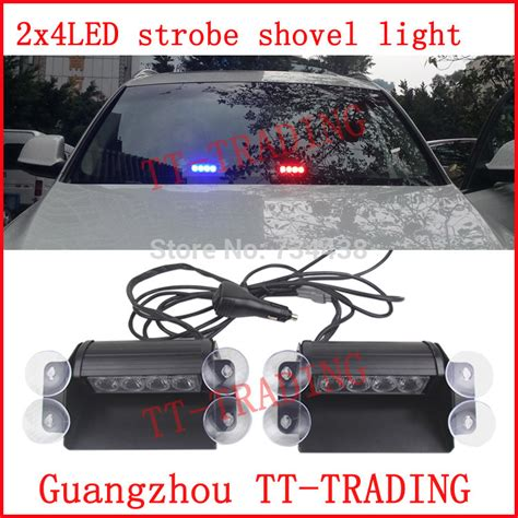 led lights for cars store aliexpress com buy 2x4 led strobe lights vehicle