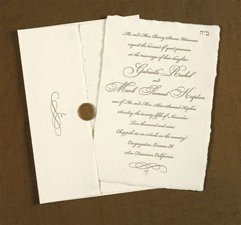 Traditional Wedding Invitations by Exclusive Traditional Wedding Invitation With Unique Font