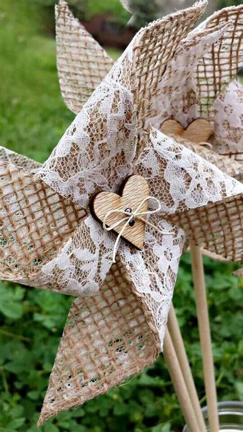Handmade Pinwheels - pinwheels handmade burlap lace bow tie