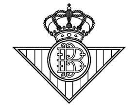 dibujo de escudo del real betis balompi 233 para colorear