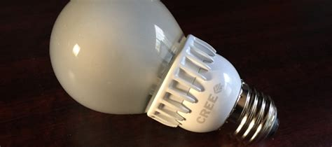 Review Cree 60w Led Light Bulb At Home In The Future Led Light Bulbs For Home Reviews