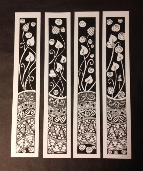 free printable zentangle bookmarks 137 best images about zentangle bookmarks on pinterest