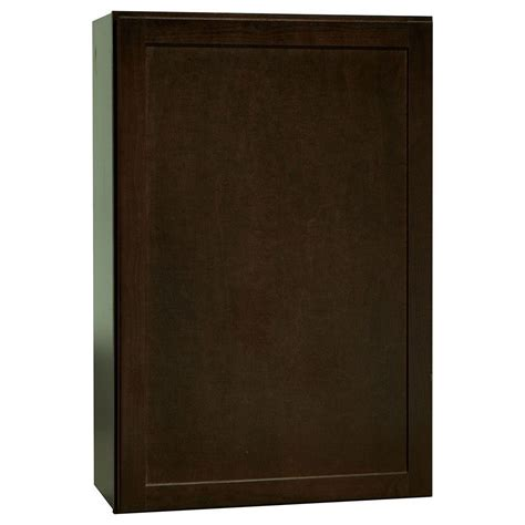 shaker cabinets home depot hton bay 36x36x12 in shaker wall cabinet in satin