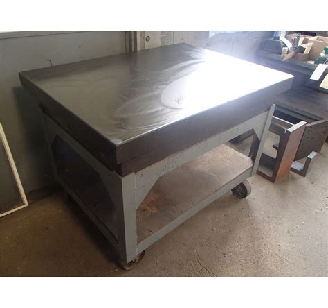 table 48 x 36 48 quot x 36 quot x 8 quot black granite table w stand