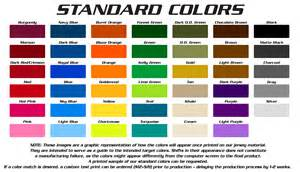 standard colors g2 gemini the leader in custom apparel