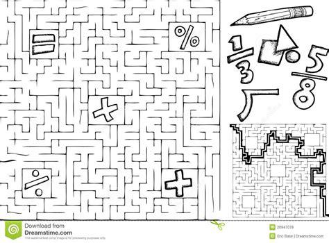 esercizi sulle porte logiche mathe labyrinth vektor abbildung bild geometrie
