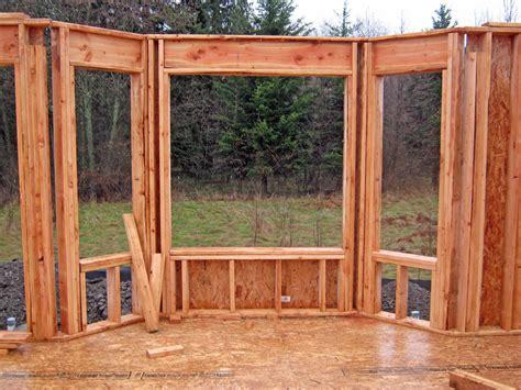 framing a window bay window framing fox custom homes
