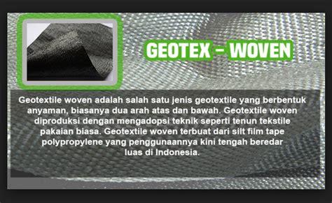 Geotextile Woven Non Woven Di Cirebon supplier geotextile non woven geobintaro geotextile