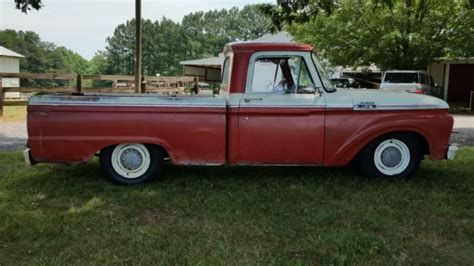 1964 ford truck 1964 ford f100 truck custom lowered rod fuel injected