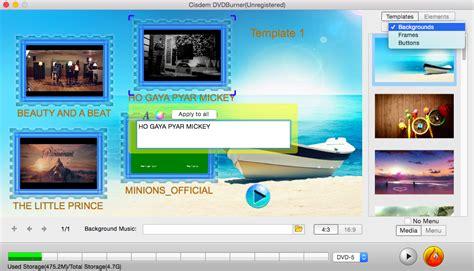 best dvd menu creator how to make a dvd menu with best dvd menu creator for mac