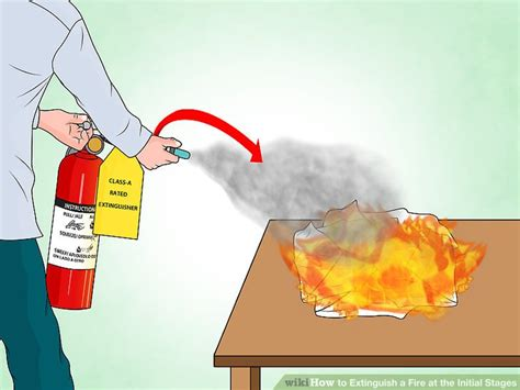 how to put out a fireplace 3 ways to extinguish a at the initial stages wikihow