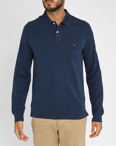 Jaket Polos Premium Navy Terlaris hilfiger navy premium piqu 233 sleeve polo shirt