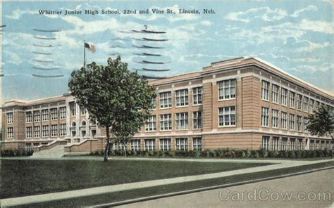 of nebraska lincoln school whittier junior high school 22nd and vine st lincoln ne