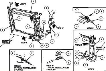 ford taurus cooling system diagram 2002 ford focus coolant diagram wedocable