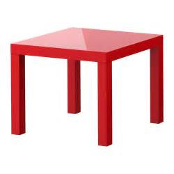 Lack Table Ikea by Lack Side Table High Gloss Red Ikea