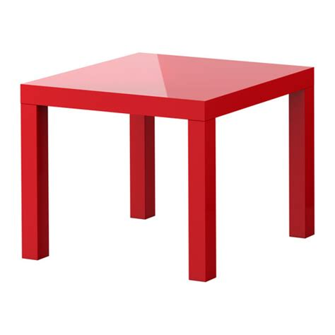 ikea lack table lack side table high gloss red 21 5 8x21 5 8 quot ikea