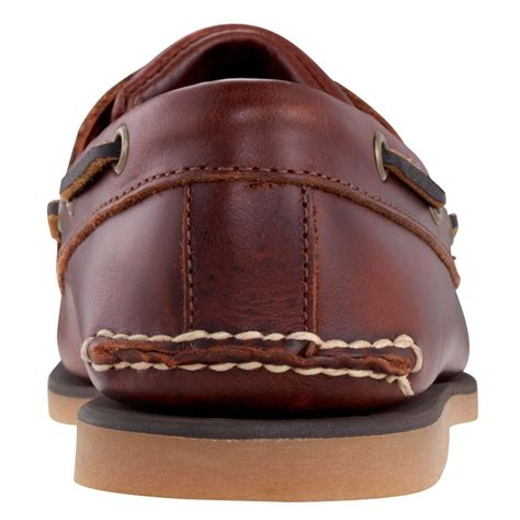 classic mens timberland boots timberland timberland brown 2 eye n55 25077 classic mens