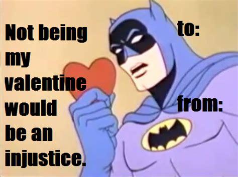 I Hate Valentines Day Meme - valentine s day batman jokes photo image picture