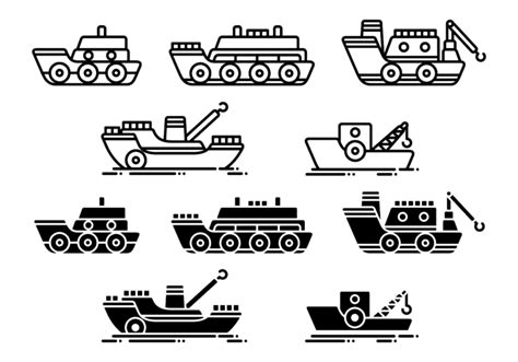 tugboat icon tugboat vector icons download free vector art stock