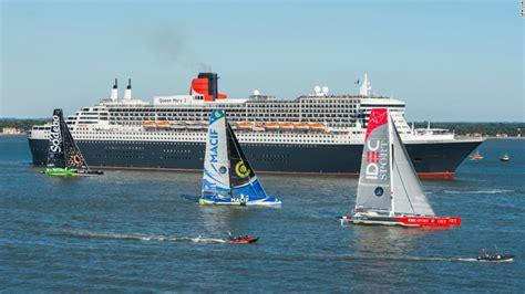 trimaran transatlantic the bridge 2017 queen mary 2 vs world s fastest