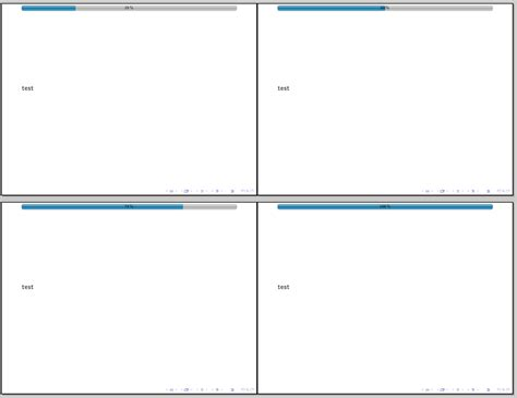 beamer theme progressbar progress bar for latex beamer tex latex stack exchange