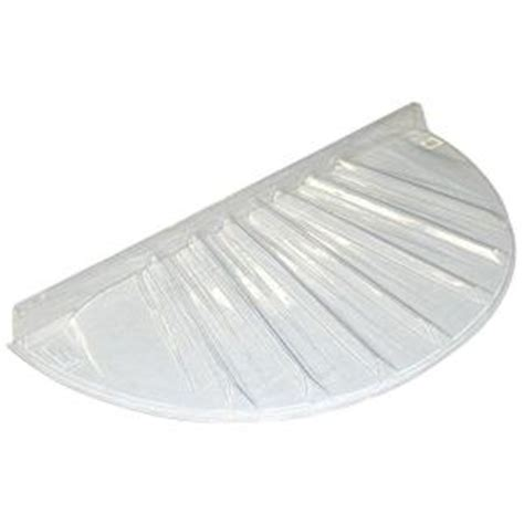 home depot window well covers maccourt 40 in x 17 in low profile circular plastic