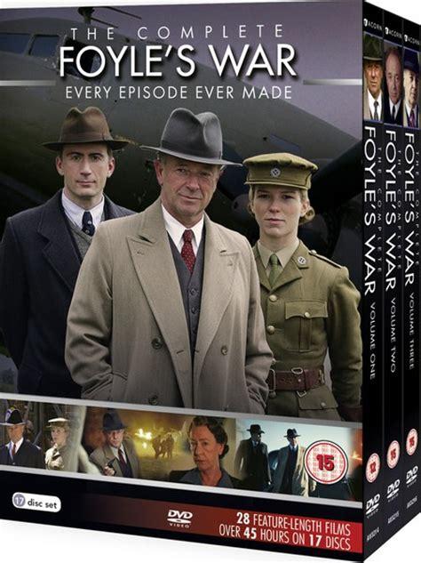 foyle s war season 10 foyle s war complete series 1 8 dvd zavvi com