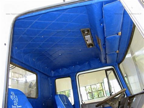 tappezzeria camion iveco 115 cab corta tappezzeria duraccio