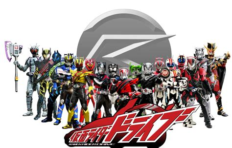 Kamen Rider Kamen Rider Drive kamen rider drive all riders and forms by omphramz on