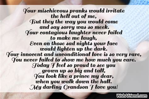 punishment to my innocent wife i love these lyrics story poems for grandson